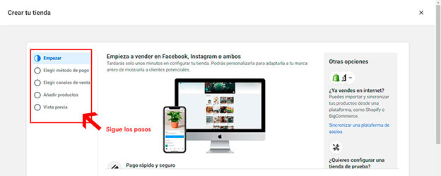 Vincular tu tienda online con facebook 4